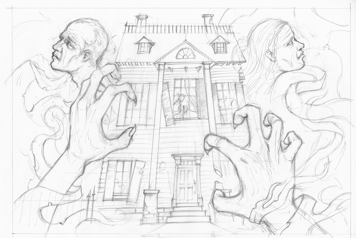 Fall of the House of Usher Brian Cook Illustration – The Fall of the House of Usher Worksheet